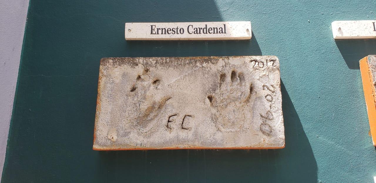 Huellas de Ernesto Cardenal en Escuela Curie